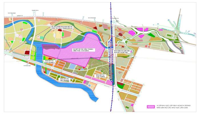 Bản đồ quy hoạch thành phố Nha Trang năm 2021 3